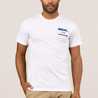 Olá!; Meu nome é Bob Camiseta