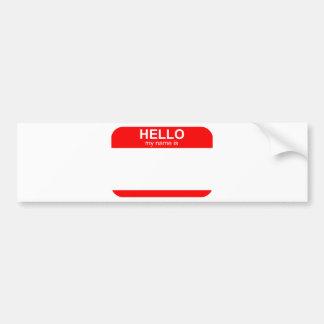 Olá! meu nome é flexível adesivo para carro