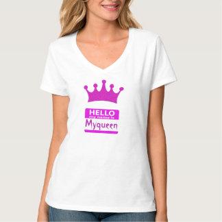 Olá! meu nome é Myqueen Camiseta