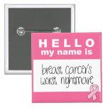 Olá! meu nome é o pesadelo o mais mau do cancro da botons