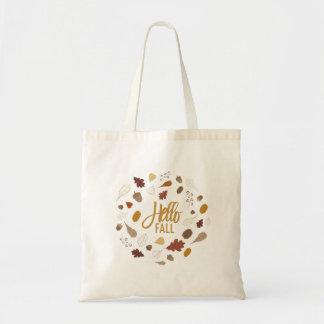 Olá! o bolsa do folhagem de outono