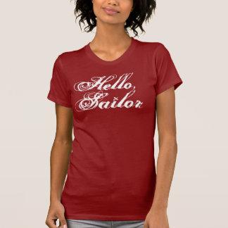 Olá!, o T da menina do marinheiro Camiseta