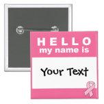 Olá! seu texto do meu nome (aqui) é personalizado botons