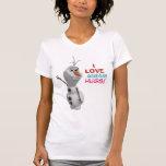 Olaf - abraços mornos do amor de I Tshirts