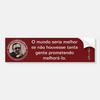 Olavettes - Produtos Olavo de Carvalho Adesivo Para Carro