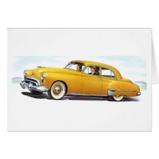 Oldsmobile 1949 98 Futuramic Cartão Comemorativo
