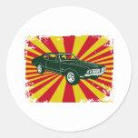Oldsmobile 1970 442 adesivos em formato redondos