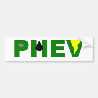 Óleo e tomada do relâmpago de PHEV Adesivos