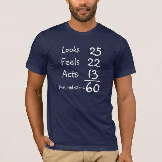 Olha, sente, actua 60th T do aniversário Camiseta