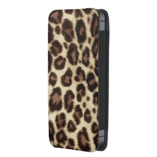 Olhar animal do impressão do impressão elegante do bolsinha de celular