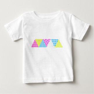 Olhar asteca louco do anos 80 do divertimento da t-shirt