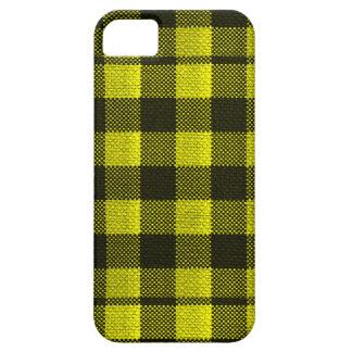 Olhar Checkered de serapilheira do teste padrão do Capa Barely There Para iPhone 5