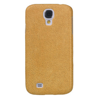 Olhar de Brown Ultrasuede do camelo Capa Samsung Galaxy S4