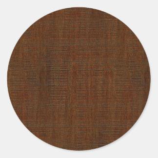 Olhar de madeira de bambu rústico da textura da adesivo