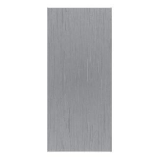 Olhar de prata do metal planfeto informativo colorido
