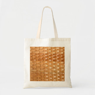 Olhar de vime da textura de Basketweave da laca Sacola Tote Budget