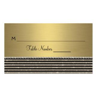 Olhar horizontal moderno do brilho da listra do cartão de visita