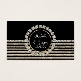 Olhar horizontal moderno do brilho da listra do cartão de visitas