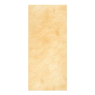 Olhar Mottled manchado do pergaminho fundo velho 10.16 X 22.86cm Panfleto
