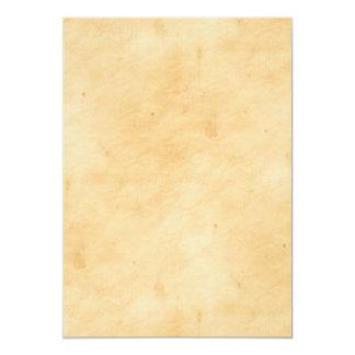 Olhar Mottled manchado do pergaminho fundo velho Convite 12.7 X 17.78cm