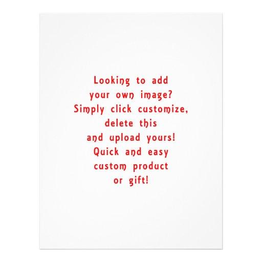 olhar para adicionar próprios projeta para o produ panfletos personalizado