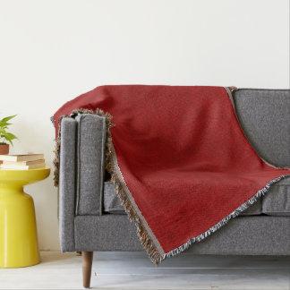 Olhar vermelho de veludo do jogador da peônia cobertor