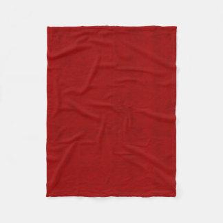 Olhar vermelho de veludo do jogador da peônia cobertor de velo