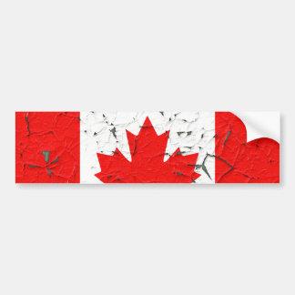 Olhares vermelhos canadenses da pintura da casca adesivo para carro