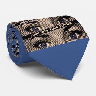 Olhe em seu futuro gravata