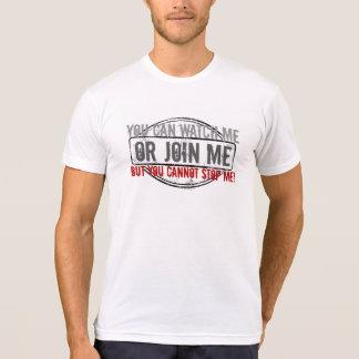Olhe-me ou junte-se me camisa dos homens do plexo
