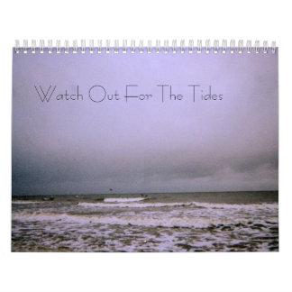 Olhe para fora para o calendário das marés