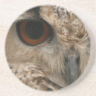 Olho da coruja porta copos de arenito