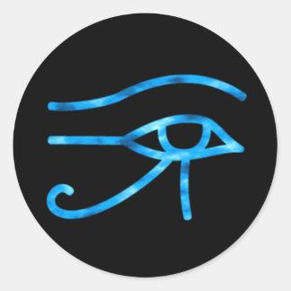Olho da etiqueta de Horus