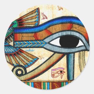 OLHO de etiquetas do egípcio de HORUS