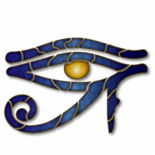 Olho de Horus 1 - escultura do ornamento Fotoesculturas