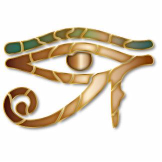 Olho de Horus 3 - escultura do ornamento Esculturafotos