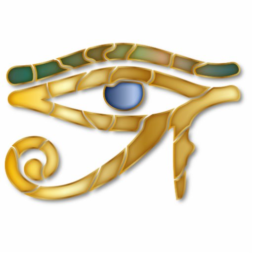 Olho de Horus 6 - escultura do ornamento Escultura De Fotos