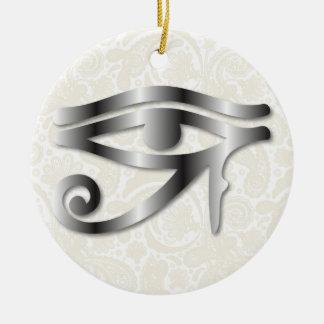 Olho de Horus - aço 1 - ornamento