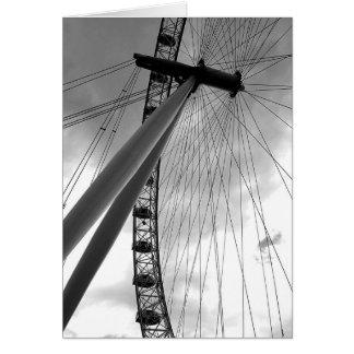 Olho de Londres Cartão Comemorativo