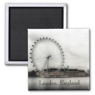 Olho de Londres Ímã Quadrado