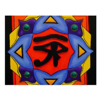 Olho do cartão de Horus