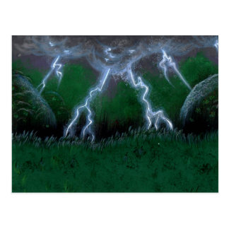 Olho do cartão do padrão da tempestade