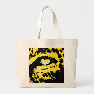 Olho do leopardo bolsa