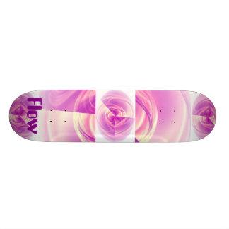 Olho do roxo do fluxo shape de skate 20,6cm