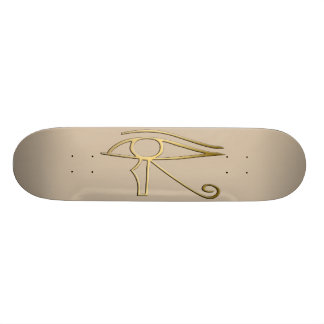Olho do símbolo do egípcio de Horus Shape De Skate 20cm