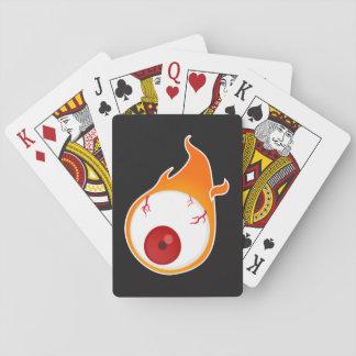 olho flamejante jogo de carta