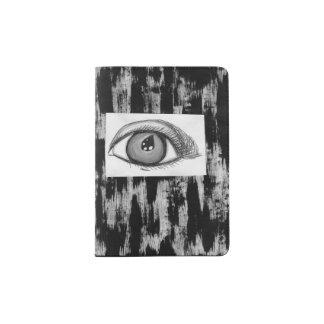 Olho no cinza capa para passaporte