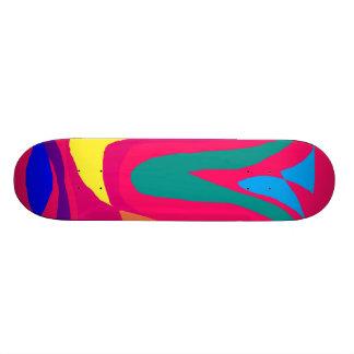 Olhos azuis originais dos carros dos pássaros de n skate boards