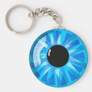Olhos azuis chaveiros