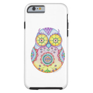 Olhos brilhantes de Owlushka Capa Tough Para iPhone 6